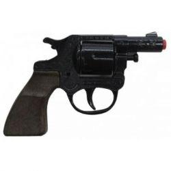 Игрушечное оружие Gonher Револьвер полицейский 8-зарядный (73/6)