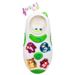 Погремушка BeBeLino Музыкальный телефон со светом (58031)