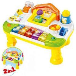 Развивающая игрушка BeBeLino Интерактивный столик Музыкальная ферма (58033)