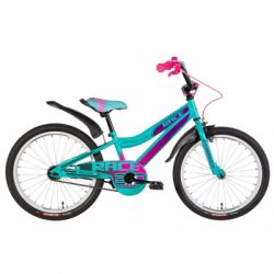 "Велосипед Formula 20"" RACE рама-10,5"" 2021 Turquoise/Violet (OPS-FRK-20-147)"