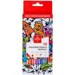 Карандаши цветные Koh-i-Noor Teenage 12 цветов (3552) - Картинка 1