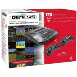 Игровая консоль Retro Genesis 16 bit Modern Wireless (170 игр, 2 беспр (ConSkDn78)