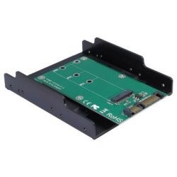 """Конвертор Maiwo SATA to M.2 (NGFF) SSD 22*42mm, 22*60mm, 22*80mm, в 3,5"""" (KT001B)"""