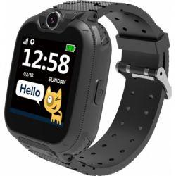 Смарт-часы Canyon CNE-KW31BB Kids smartwatch Tony, Black (CNE-KW31BB)