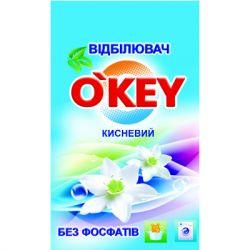 Отбеливатель O'KEY кислородный для белого белья 200 г (4820049381344)