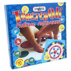 Настольная игра Strateg Twister Ok Гибкие пальчики (730)
