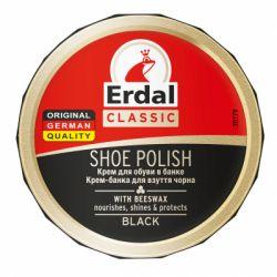 Крем для обуви Erdal Shoe Polish in tin Black Черный 75 мл (4001499160707)