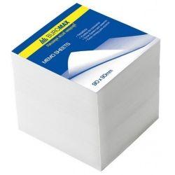 Бумага для заметок BUROMAX White 90х90х90мм., unglued (BM.2219)