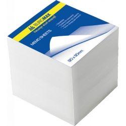 Бумага для заметок BUROMAX White JOBMAX 90х90х70мм.,unglued (BM.2218)
