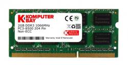 SO-DIMM 2GB/1066 DDR3 KomputerBay (204PC3-1066/2GB)