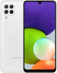 Телефон Смартфон Samsung Galaxy A22 SM-A225 4/64GB Dual Sim White (SM-A225FZWDSEK)_ - Картинка 1