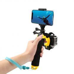 Монопод AirOn двойной плавающий для камеры и смартфона X-263-1 (69477915500103)