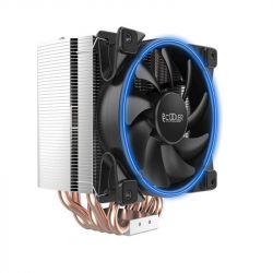 Кулер процессорный PCCooler GI-H58U Corona Blue, Intel: 2066/2011/1150/1151/1155/1156/1366/775, AMD: AM2/AM2+/AM3/AM3+/AM4/FM1/FM2/FM2+, 152х134х100 мм, 4-pin - Картинка 1