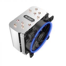 Кулер процессорный PCCooler GI-H58U Corona Blue, Intel: 2066/2011/1150/1151/1155/1156/1366/775, AMD: AM2/AM2+/AM3/AM3+/AM4/FM1/FM2/FM2+, 152х134х100 мм, 4-pin - Картинка 3