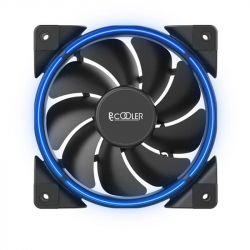 Кулер процессорный PCCooler GI-H58U Corona Blue, Intel: 2066/2011/1150/1151/1155/1156/1366/775, AMD: AM2/AM2+/AM3/AM3+/AM4/FM1/FM2/FM2+, 152х134х100 мм, 4-pin - Картинка 5