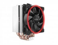 Кулер процессорный PCCooler GI-H58U Corona Red, Intel: 2066/2011/1150/1151/1155/1156/1366/775, AMD: AM2/AM2+/AM3/AM3+/AM4/FM1/FM2/FM2+, 152х134х100 мм, 4-pin - Картинка 1