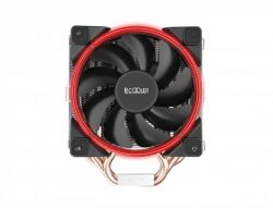 Кулер процессорный PCCooler GI-H58U Corona Red, Intel: 2066/2011/1150/1151/1155/1156/1366/775, AMD: AM2/AM2+/AM3/AM3+/AM4/FM1/FM2/FM2+, 152х134х100 мм, 4-pin - Картинка 2