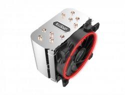 Кулер процессорный PCCooler GI-H58U Corona Red, Intel: 2066/2011/1150/1151/1155/1156/1366/775, AMD: AM2/AM2+/AM3/AM3+/AM4/FM1/FM2/FM2+, 152х134х100 мм, 4-pin - Картинка 3