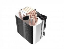 Кулер процессорный PCCooler GI-H58U Corona Red, Intel: 2066/2011/1150/1151/1155/1156/1366/775, AMD: AM2/AM2+/AM3/AM3+/AM4/FM1/FM2/FM2+, 152х134х100 мм, 4-pin - Картинка 4