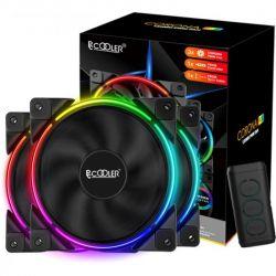 Вентилятор PCCooler Corona RGB 3in1; 120х120х25 мм, 4-pin - Картинка 3