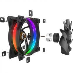 Вентилятор PCCooler Corona RGB 3in1; 120х120х25 мм, 4-pin - Картинка 7