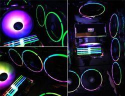 Вентилятор PCCooler Corona RGB 3in1; 120х120х25 мм, 4-pin - Картинка 8
