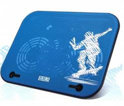 Охлаждающая подставка для ноутбука PCCooler V18, Blue