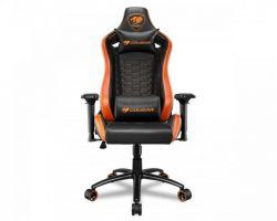 Кресло для геймеров Cougar Outrider S Black/Orange - Картинка 1