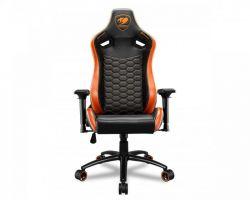 Кресло для геймеров Cougar Outrider S Black/Orange - Картинка 2