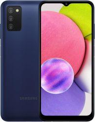 Смартфон Samsung Galaxy A03s SM-A037 3/32GB Dual Sim Blue (SM-A037FZBDSEK) - Картинка 1
