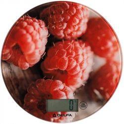 Весы кухонные Delfa DKS-3116 Raspberry