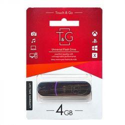 USB Flash Drive 4Gb T&G 012 Shorty series Black, TG012-4GBBK