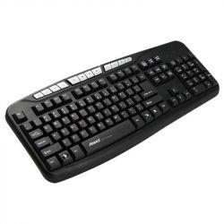Клавиатура Aneex E-K812 Black USB