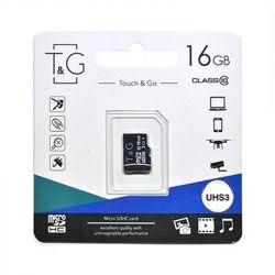 MicroSDHC   16GB UHS-I U3 Class 10 T&G (TG-16GBSD10U3-00)