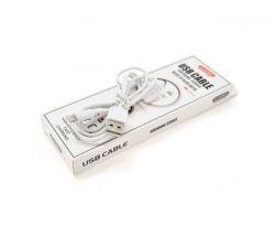 Кабель iKaku Suchang USB-Lightning, 2.4A, 1м White (KSC-060/18951)