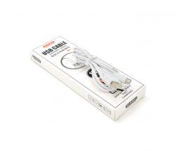Кабель iKaku Suchang USB-microUSB, 2.4A, 1м White (KSC-060/18950)