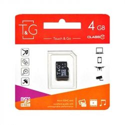 MicroSDHC    4GB UHS-I Class 10 T&G (TG-4GBSDCL10-00)
