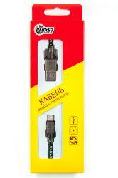 Кабель Dengos USB-Lightning 4A 1м Black (NTK-L-KPR-USB3-BLACK) - Картинка 4