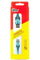 Кабель Dengos USB-Lightning 1м Blue (PLS-L-IND-SOFT-BLUE) - Картинка 3