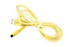 Кабель Dengos USB-Lightning 1м Yellow (PLS-M-IND-SOFT-YELLOW) - Картинка 1