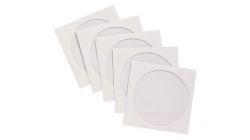 Конверт бумажный для диска с окошком 100шт/уп (KOPZ100)