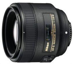 Объектив Nikon 85mm f/1.8G AF-S <укр>