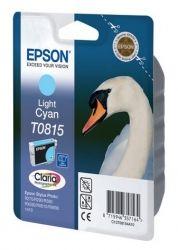 Картридж EPSON (T0815) Stylus Photo R270/390/RX590 (C13T11154A10) Light Cyan, 11мл