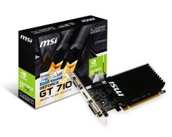 GF GT 710 1Gb DDR3 MSI (GT 710 1GD3H LP)