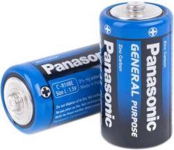 Батарейка Panasonic General Purpose C/LR14 TRAY 2 шт
