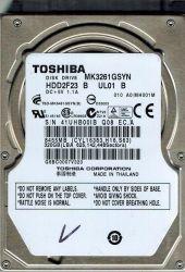 "Жесткий диск 2.5"" 320Gb Toshiba, SATA2, 16Mb, 7200 rpm (MK3261GSYN) (Ref)"