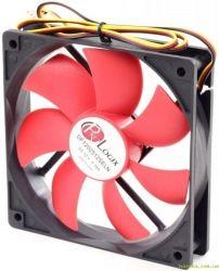 Вентилятор ProLogix 120*120*25 4pin Black/Red(PF-SB120BR4) BOX