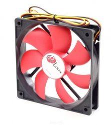 Вентилятор ProLogix 80*80*25 3pin Black/Red(PF-SB80BR3) BOX