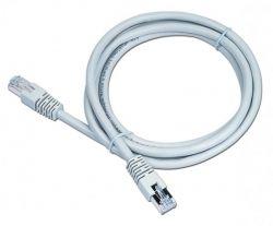 """Патч-корд Cablexpert PP6-LSZHCU-0.25M, FTP, литой, 50u """"штекер с защелкой, 0.25 м, серый"""