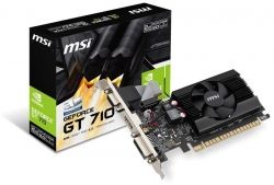 GF GT 710 2Gb DDR3 LP MSI (GT 710 2GD3 LP)